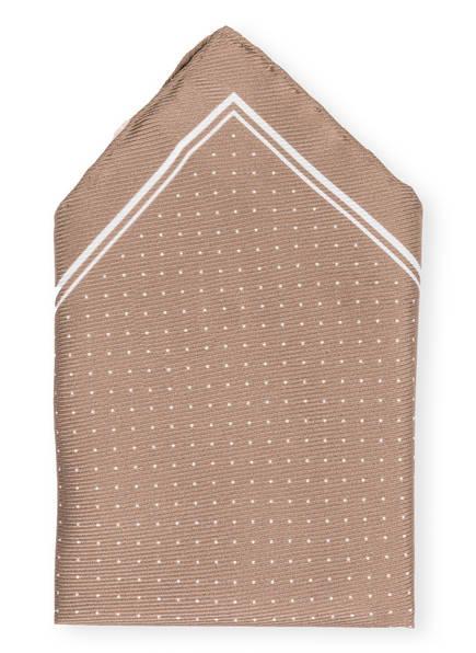 REISS Einstecktuch JUPITER, Farbe: BRAUN/ WEISS (Bild 1)