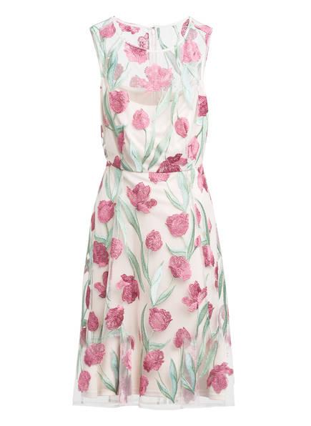 Phase Eight Kleid SHAE mit Stickereien, Farbe: CREME/ GRÜN/ ROSA (Bild 1)