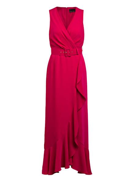 Phase Eight Abendkleid LARA mit Volantbesatz, Farbe: PINK (Bild 1)