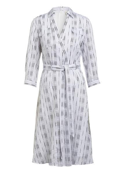 damsel in a dress Kleid ENNIS in Wickeloptik mit 3/4-Arm, Farbe: WEISS/ SCHWARZ (Bild 1)