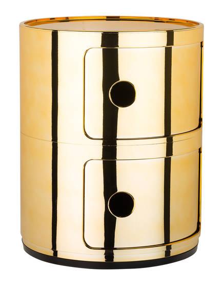 Kartell Beistelltisch COMPONIBILI, Farbe: GOLD (Bild 1)