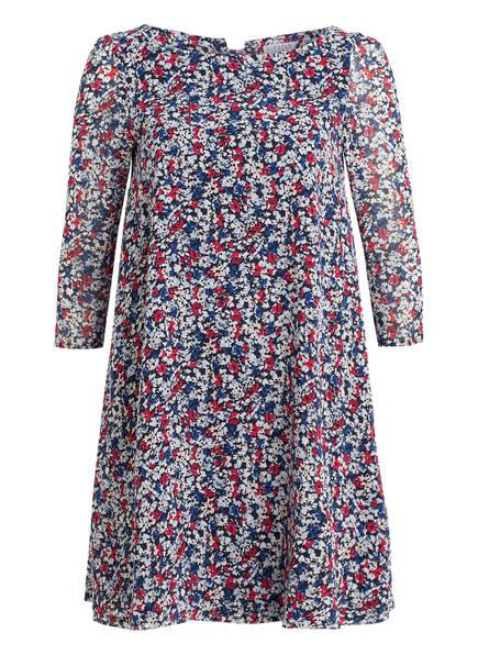 CLAUDIE PIERLOT Kleid RIFIFILIBERTY mit 3/4-Arm , Farbe: BLAU/ ROT/ HELLBLAU (Bild 1)