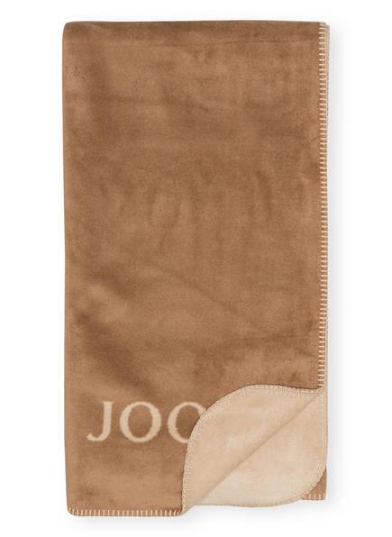 JOOP! Plaid, Farbe: HELLBRAUN/ BEIGE (Bild 1)