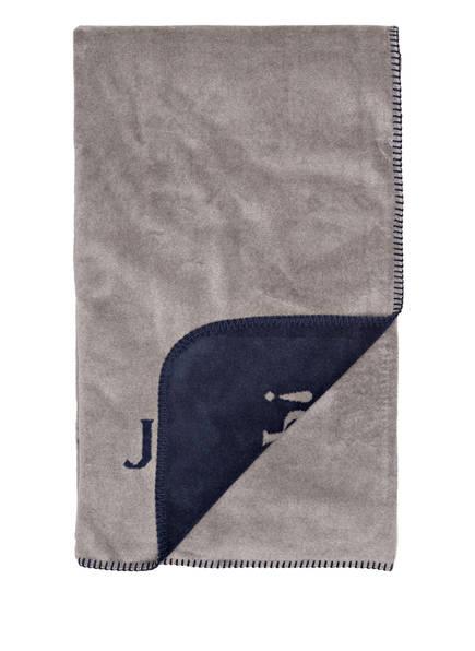 JOOP! Plaid, Farbe: GRAU/ DUNKELBLAU (Bild 1)