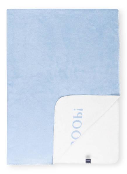 JOOP! Plaid, Farbe: HELLBLAU/ CREME (Bild 1)