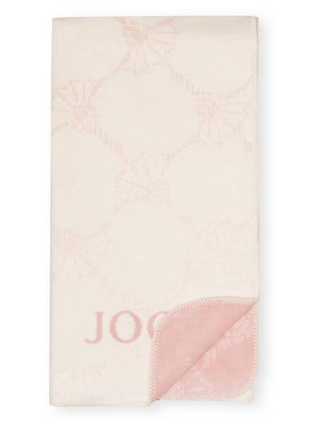 JOOP! Plaid, Farbe: CREME/ HELLROSA (Bild 1)