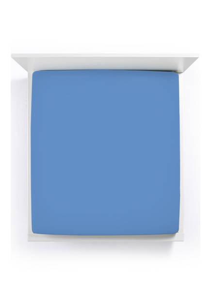 FORMESSE Spannbetttuch BELLA DONNA, Farbe: AZUR (Bild 1)