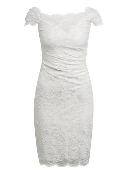 OLVI'S Kleid mit Spitzenbesatz, Farbe: WEISS (Bild 1)