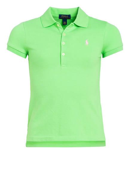 POLO RALPH LAUREN Piqué-Poloshirt, Farbe: HELLGRÜN (Bild 1)