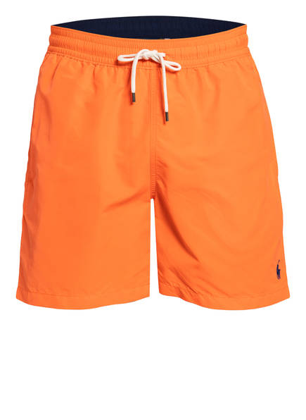 POLO RALPH LAUREN Badeshorts TRAVELLER, Farbe: ORANGE (Bild 1)