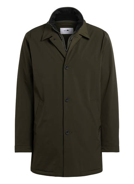 NN07 Mantel BLAKE mit herausnehmbarer Blende, Farbe: OLIV (Bild 1)