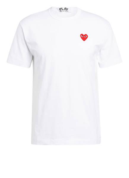COMME des GARÇONS PLAY T-Shirt, Farbe: WEISS (Bild 1)