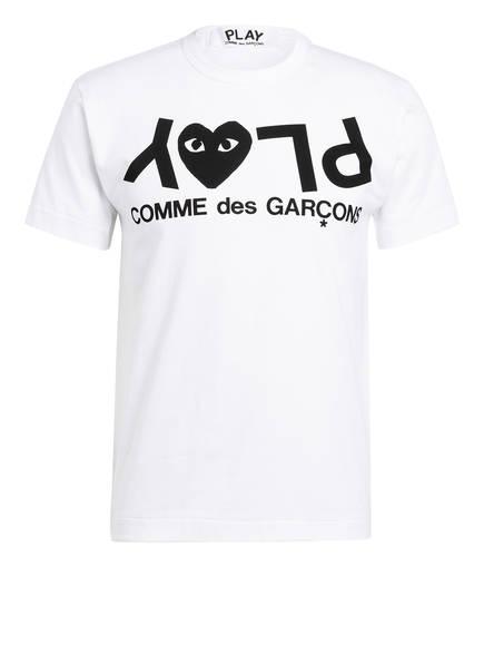 COMME des GARÇONS PLAY T-Shirt, Farbe: WEISS/ SCHWARZ (Bild 1)
