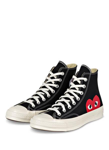 COMME des GARÇONS PLAY Hightop-Sneaker PLAY, Farbe: SCHWARZ (Bild 1)
