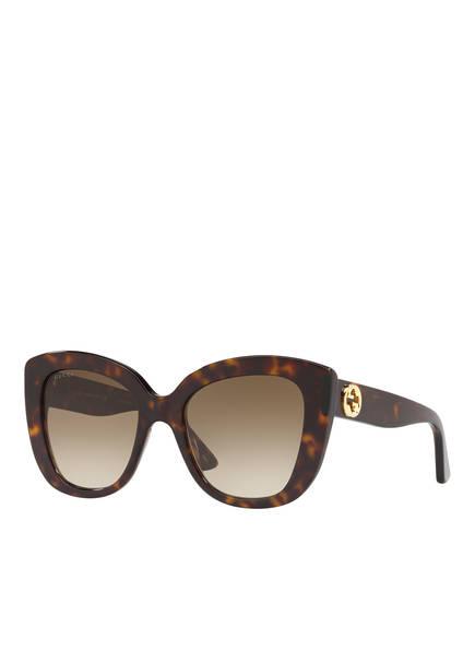 GUCCI Sonnenbrille GC001150, Farbe: 4402D1 - HAVANA/ BRAUN VERLAUF (Bild 1)