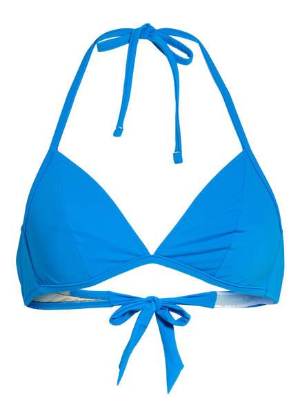 MARIE JO Triangel-Bikini-Top AURELIE , Farbe: BLAU (Bild 1)