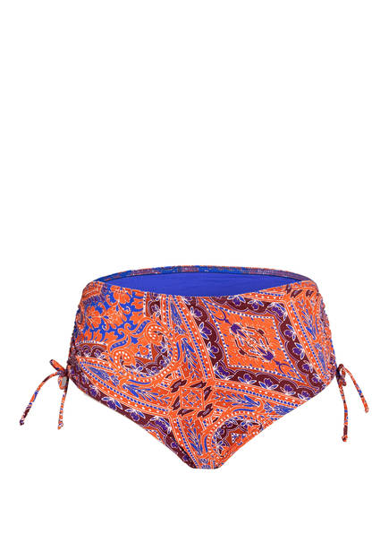 PrimaDonna Bikini-Hose CASABLANCA, Farbe: BLAU/ ORANGE (Bild 1)