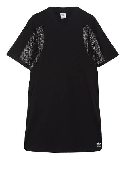 adidas Originals Jerseykleid LACE mit Spitzeneinsatz, Farbe: SCHWARZ (Bild 1)