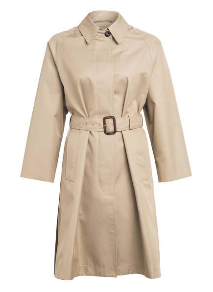 WEEKEND MaxMara Trenchcoat FIGLIO mit Plisseefalten, Farbe: HELLBRAUN (Bild 1)