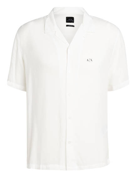 ARMANI EXCHANGE Resorthemd Regular Fit, Farbe: WEISS (Bild 1)