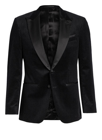 BOSS Smoking-Sakko HELWARD Slim Fit, Farbe: 001 BLACK (Bild 1)