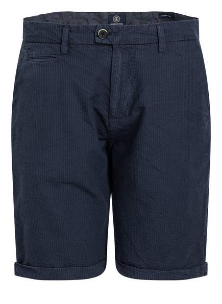 DSTREZZED Chino-Shorts Slim Fit, Farbe: DUNKELBLAU (Bild 1)