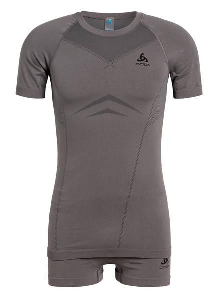 odlo Set: Funktionswäsche-Shirt und Funktionswäsche-Boxershorts PERFORMANCE EVOLUTION , Farbe: GRAPHIT (Bild 1)