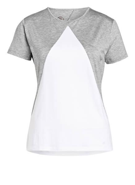BOGNER T-Shirt NEELA, Farbe: HELLGRAU/ WEISS MELIERT (Bild 1)