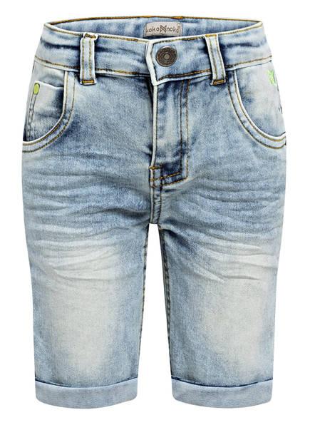 Koko Noko Jeans-Shorts, Farbe: HELLBLAU (Bild 1)