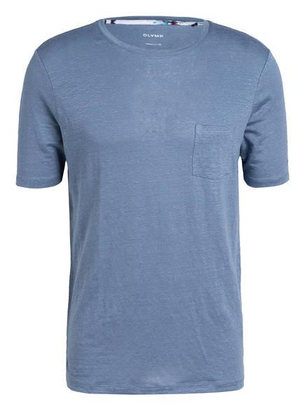 OLYMP T-Shirt aus Leinen, Farbe: HELLBLAU (Bild 1)