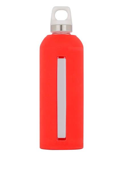 SIGG Trinkflasche STAR SCARLET, Farbe: ROT/ WEISS/ TRANSPARENT (Bild 1)