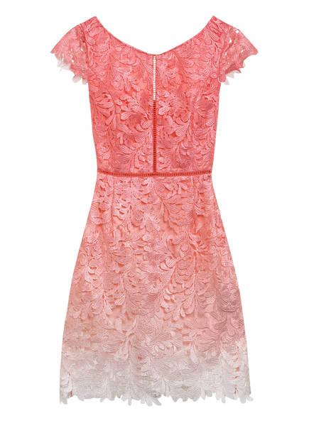 GUESS Kleid LUANA mit Häkelspitze, Farbe: LACHS/ ROSE/ CREME (Bild 1)