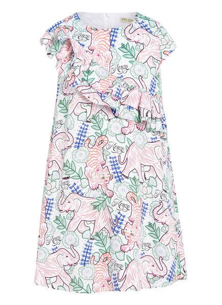 KENZO Kleid , Farbe: WEISS/ GRÜN/ PINK (Bild 1)