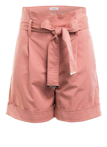 Calvin Klein Paperbag-Shorts, Farbe: ROSÉ (Bild 1)