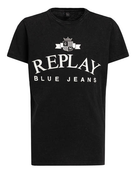 REPLAY T-Shirt, Farbe: SCHWARZ (Bild 1)