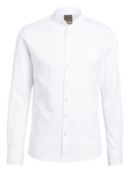 BENVENUTO Hemd Slim Fit mit Stehkragen, Farbe: WEISS (Bild 1)