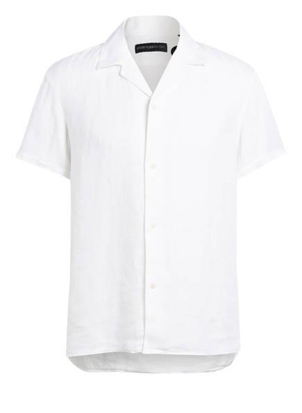 DRYKORN Resorthemd BIJAN Regular Fit aus Leinen, Farbe: WEISS (Bild 1)