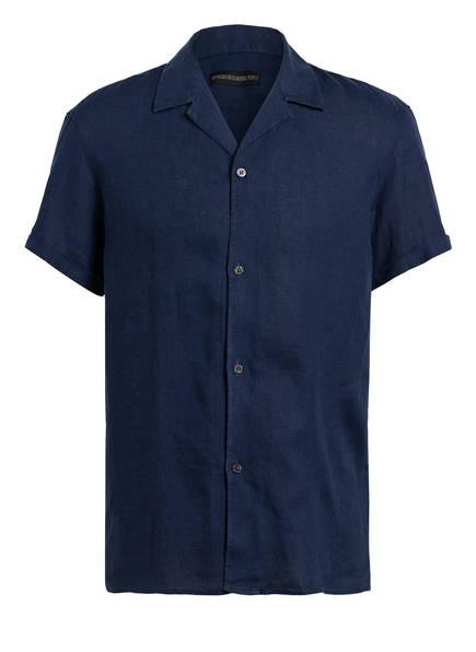DRYKORN Resorthemd BIJAN Regular Fit aus Leinen, Farbe: DUNKELBLAU (Bild 1)