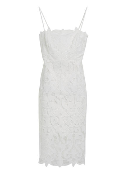 BARDOT Kleid LINA mit Lochspitze, Farbe: WEISS (Bild 1)
