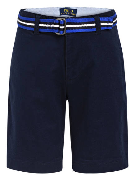 POLO RALPH LAUREN Chino-Shorts Slim Fit, Farbe: DUNKELBLAU (Bild 1)