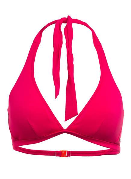FIRE+ICE Neckholder-Bikini-Top JASMIN, Farbe: FUCHSIA/ ORANGE (Bild 1)