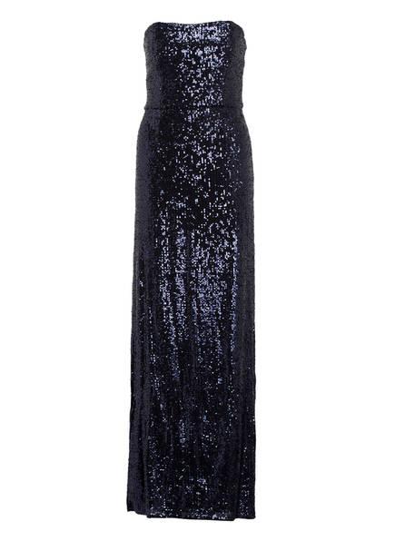 BARBARA SCHWARZER Abendkleid mit Paillettenbesatz, Farbe: DUNKELBLAU (Bild 1)