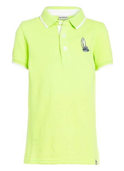 GARCIA Piqué-Poloshirt, Farbe: NEON GELB (Bild 1)