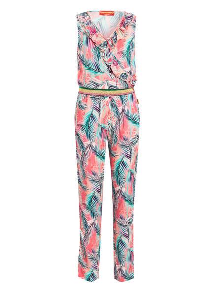 VINGINO Jumpsuit PERNELLA mit Volantbesatz, Farbe: ROSA/ MINT/ LILA (Bild 1)