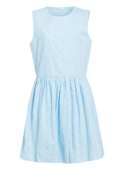 name it Kleid mit Lochstickerei, Farbe: HELLBLAU (Bild 1)