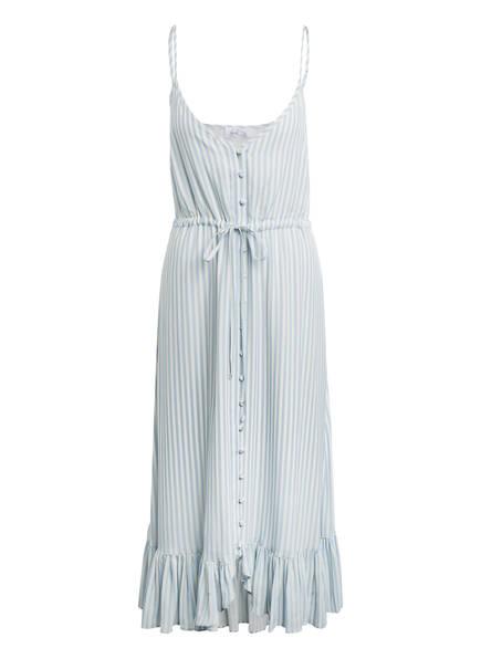 heart MIND Kleid DIZZY mit Volantbesatz, Farbe: HELLBLAU/ WEISS (Bild 1)