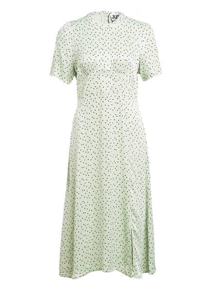 JUST FEMALE Kleid MARIELLE, Farbe: HELLGRÜN/ SCHWARZ (Bild 1)