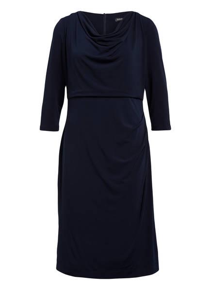 SWING Curve Kleid mit 3/4-Arm, Farbe: DUNKELBLAU (Bild 1)