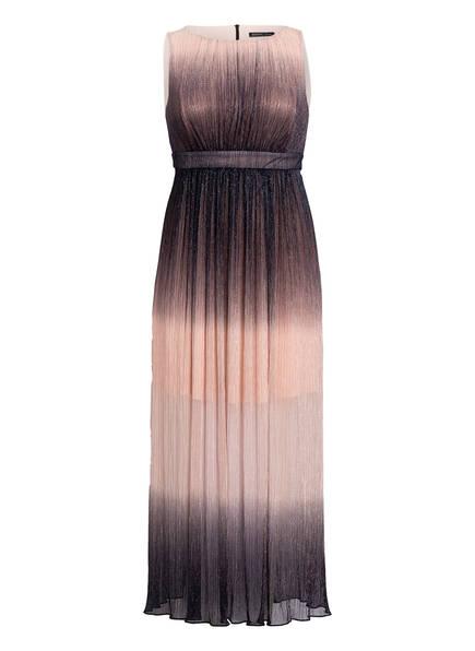 SWING Curve Abendkleid mit Glitzergarn, Farbe: NUDE/ DUNKELBLAU (Bild 1)