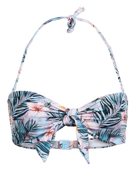 Hot Stuff Bandeau-Bikini-Top , Farbe: BLAU/ ROSA (Bild 1)